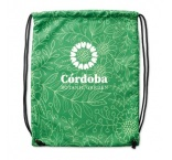 MB3023 - 100% Polyester (220gsm) drawstring bag for a firm structure and vivid colours. Min 250 pcs